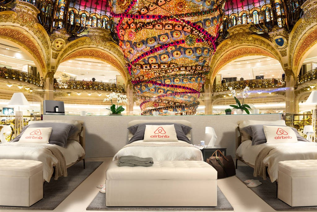 galeries lafayette soldes air bnb